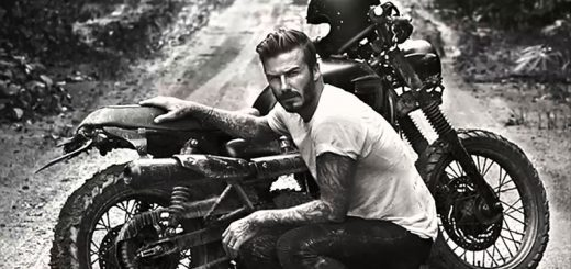 10 Famous Celebrities Who Ride Motorcycles-beckham