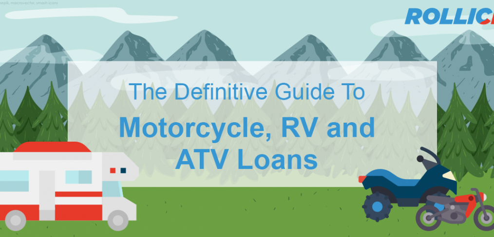 Whether you have bad credit or excellent credit, we've crafted the Definitive Guide to getting the best motorcycle loan, RV loan, or ATV loan rate.