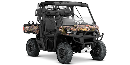 Best Side-by-Side UTV for Hunting 2019- Can-Am Defender, Mossy Oak Edition 1