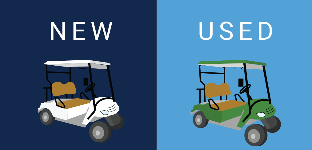 golf cart new or used?