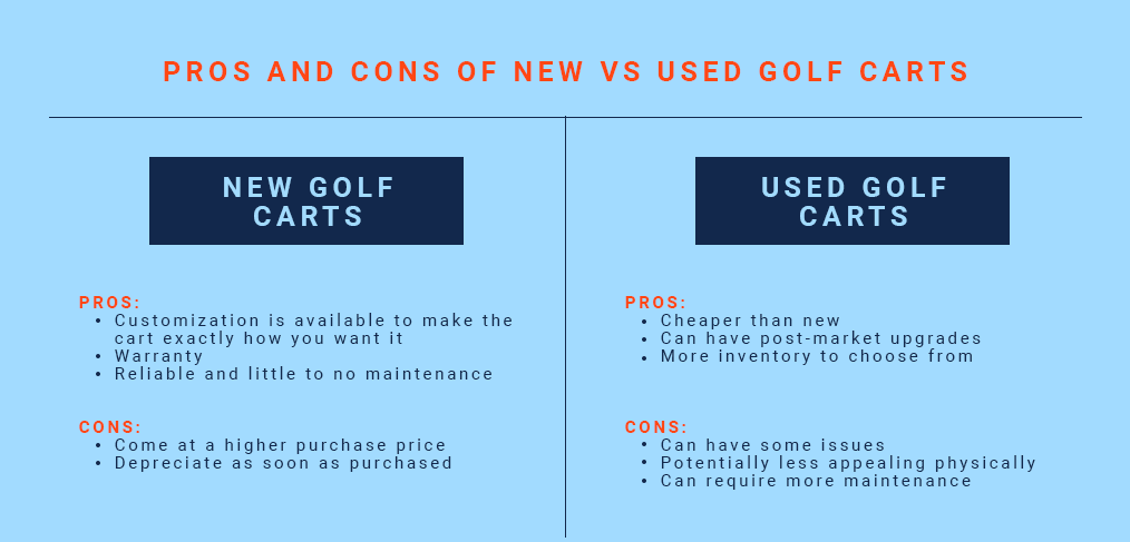 golf cart pros and cons