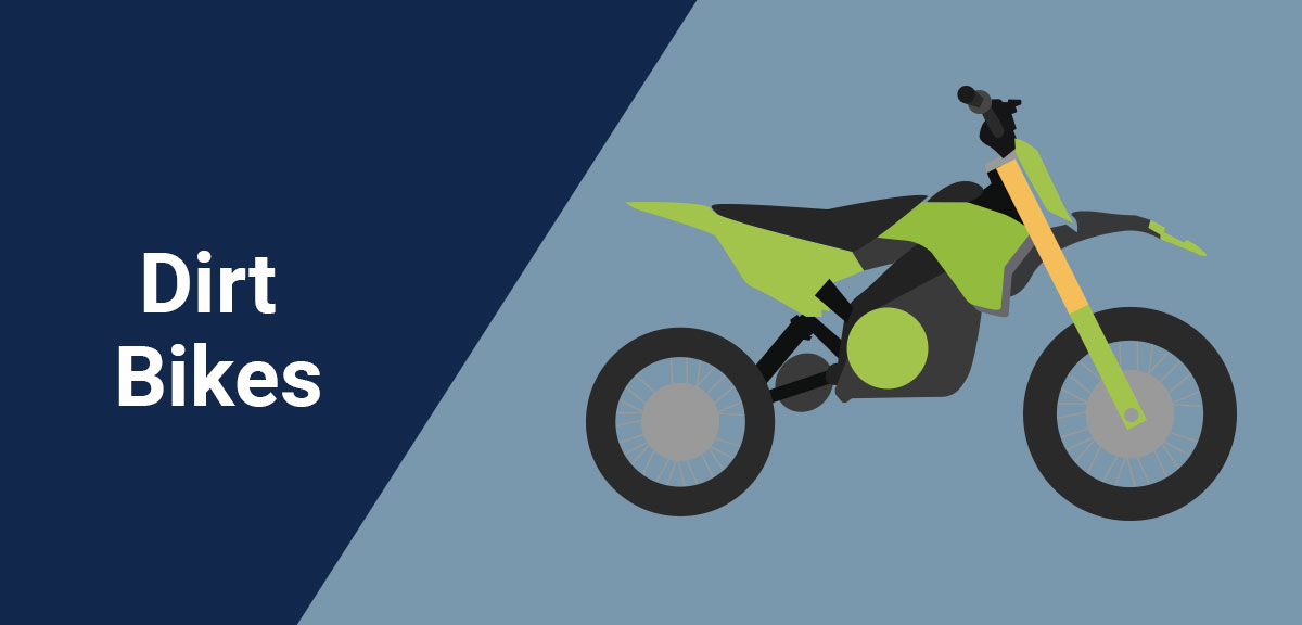 Types of Motorcycles - Dirt Bikes