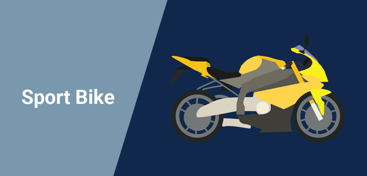 Types of Motorcycles - Sport-Bike