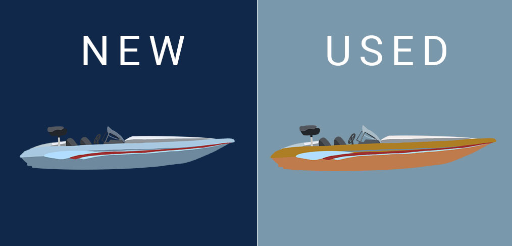 new and used boats