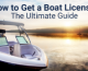 how to get a boat license